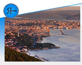 Crocieristica a Trieste